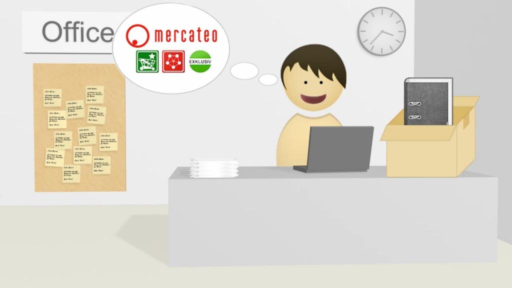 Als klant Mercateo gebruiken